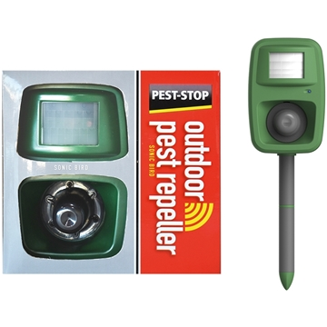 Εικόνα της PEST STOP OUTDOOR SONIC BIRD REPELLER